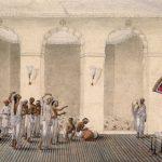 Durga Puja 1809 Watercolor Painting